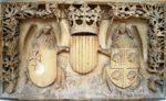 3, Piedras armeras del siglo XV, foto tomada de Zaragoza Buenas Noticias
