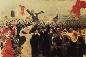 800px-Demonstration_on_October_17,_1905_by_Ilya_Repin_(adumbration_1906)