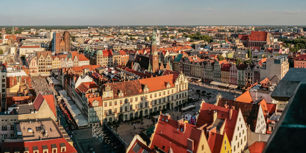 Panoramica de Wroclaw